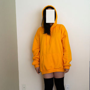 Cozy Gold Yellow H&M Oversized Hoodie